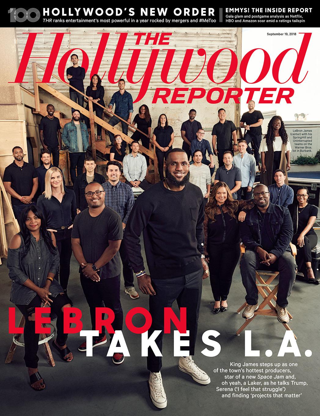 THR LeBron Cover